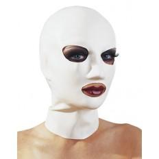 LateX - Latexmaske - Hvit - S-L