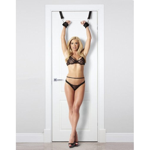 Rimba - Over The Door Cuffs-sett - Bondage til Døren