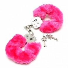 Rimba - Håndjern med rosa plysj