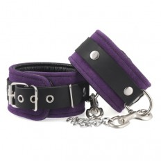 Rimba - Håndcuffs i lær, lilla