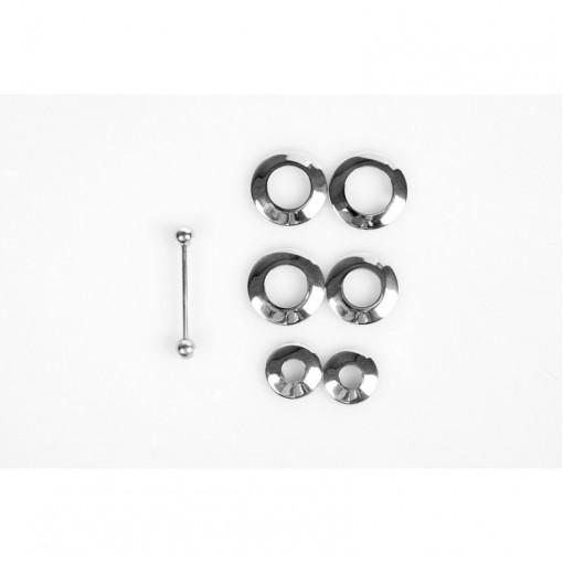 Piercing Nipple Discs (6 piece set)