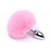 Kiotos - Buttplug med rosa kaninhale
