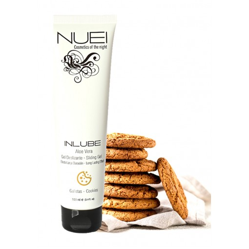 NUEI - Inlube - Vannbasert Glidemiddel med Smak - Cookies