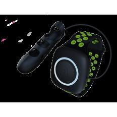Adrien Lastic - Touche S - Oppladbar Fingervibrator med Fjernkontroll grønn
